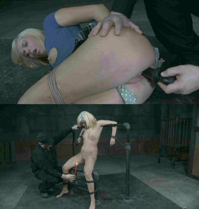Shes a complete bondage noob