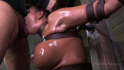 Description Ava Devine, sybian orgasmed out of her mind while brutally throat sex