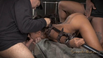 Skin Diamond — Bondage, Rough Fucking and Brutal Deepthroat!