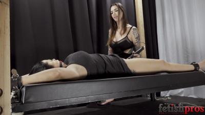 Rocky Emerson Teases Nadia White Toward a Bondage Orgasm