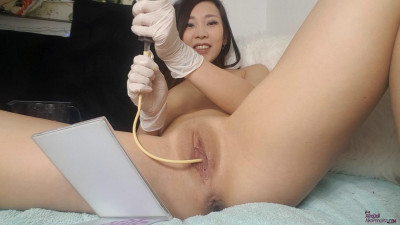Catheter Play - Pee Desperation - Full HD 1080p