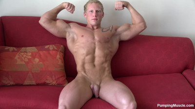 Pumping Muscle Ryan R Photoshoot 12 HD