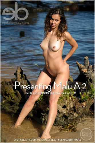 Presenting Malu A 2 - Window Sill