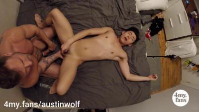 Austin Wolf Fucks Jaesyun 4MyFans HD