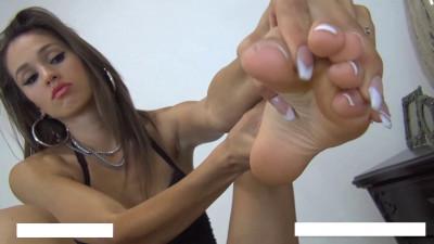 French pedi foot worship
