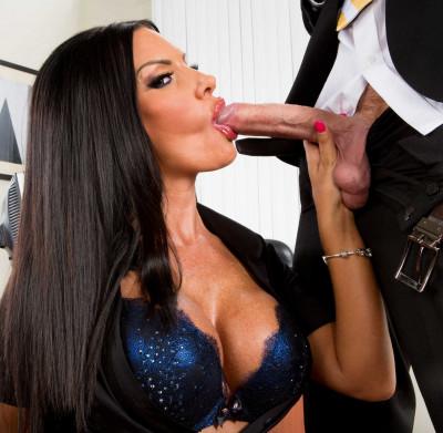 Perfect Sexy Secretary With Nice Juicy Tits