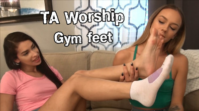 Gym feet (Naomi Swann, Kitty Catherine)