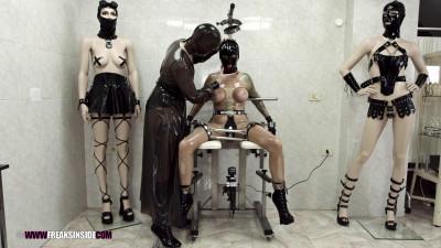 BDSM Latex Freaks Inside fetish bondage latex Part Eight