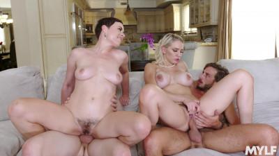Stepmom's Orgy
