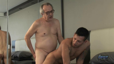 MyFirstDaddy - Javier Takes a Big Dick In His Ass