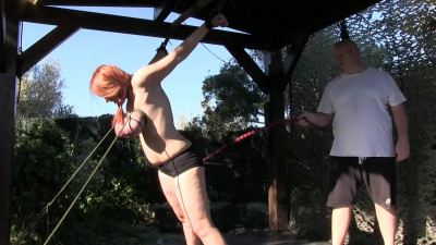 Description Stretched tits and punishment for bettine Part bip062