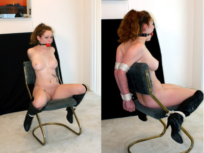 Chair Tied Hell For A Naked Girl! — Daena — Full HD 1080p