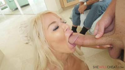 Busty blonde milf London River fucks her hung 1080p