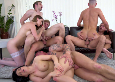 Bisexual Orgy Mania