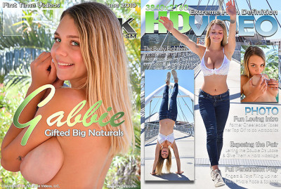 Gabbie – The busty eighteen (2019)