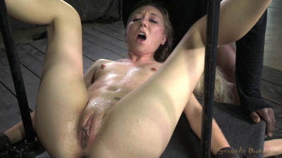 Description Two blonde pixies Odette Delacroix and Emma Haize tag teamed by cock