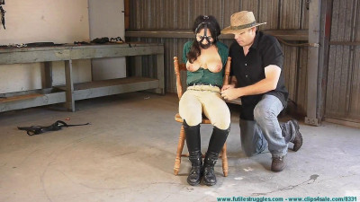 Ellen Equestrian to PonyGirl - Leather part 4