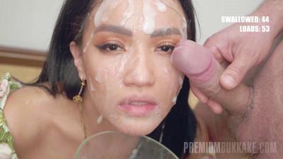 Asia Vargas part 1 - Bukkake