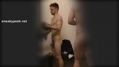 When these footballers emerge from the showers it's like a parade of cock!