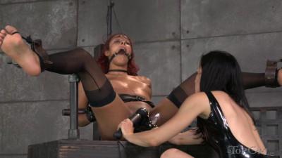 TopGrl Pushing Daisy (online, spanking, female, spank, bondage)