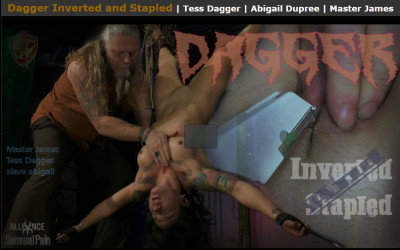 SensualPain - May 21, 2017 - Dagger Inverted and Stapled - Tess Dagger, Abigail Dupree, Master James