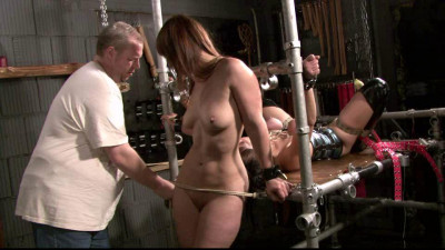 Slave Eva & Yvette at the Dungeon