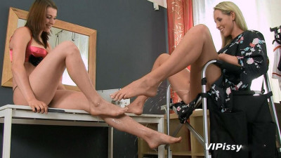 Description Jenny Simons and Victoria Daniels All About Pedicure