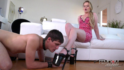 Britney Light - Blackmailed Foot-Bitch