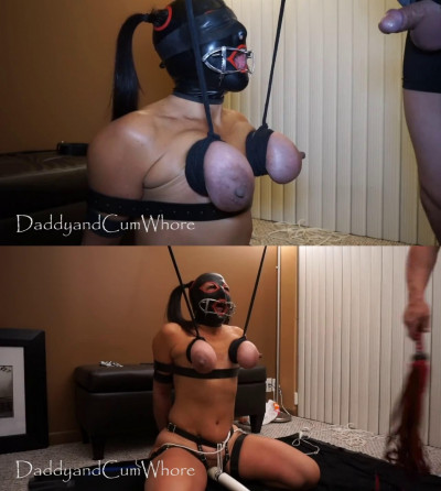 Hard bondage, spanking and torture for sexy whore part1