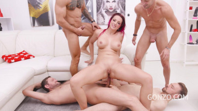 Jolee Love – Piss drinking slut Jolee Love endures 8 Dap