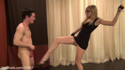 Spiked Heels Ballbusting by Princess Laci