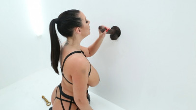 Angela White Is In BBC Glory Hole Euphoria