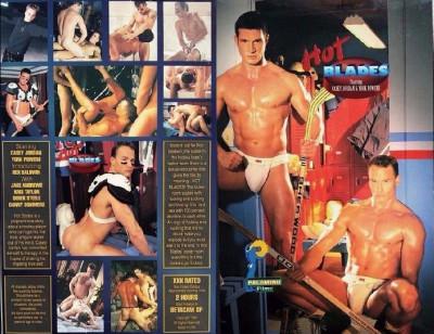 Hot Blades (1995) — Casey Jordan, York Powers, Rex Baldwin