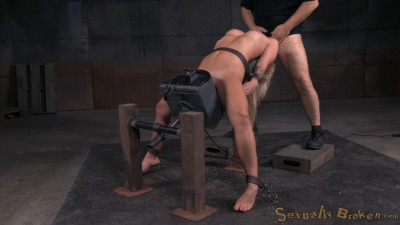 Madelyn Monroe Bound On A Sybain And Utterly Destroyed By Dick