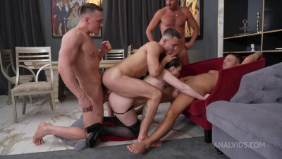 Real Orgasm's Orgy and First DVP For Kamilla Kavalli