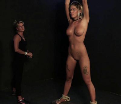 Bondage & Whip For Hot Fatima