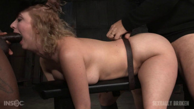 Cherry Torn bound doggystyle and facefucked