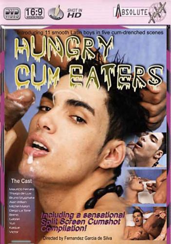 Description Bareback Hungry Cum Eaters - Mauricio Ferrari, Bruno Stigmata, Thiago Delux