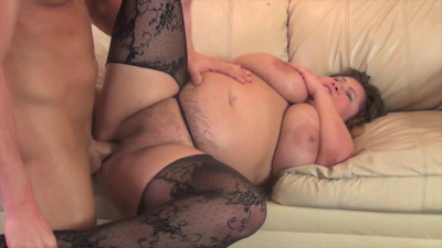 Sexy Bbw Kacey Parker shows off and gets railed