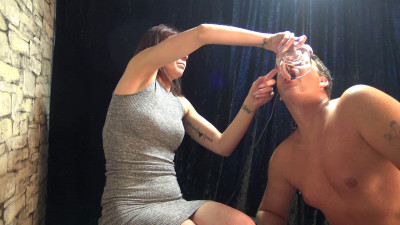 French Spitting Girls - Feeding Spit Meal Part 2