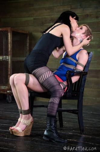 HT – Bound And Beaten – Maia Davis, Elise Graves – HD