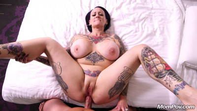 huge tit tattoed mature richel fucked anal full hd