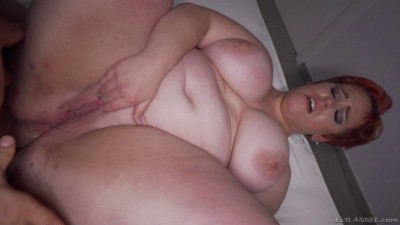 Description Busty Red Haired BBW Gets Her Ass Hammered