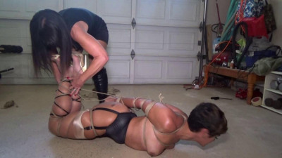 Sizzling hot latina begs for mercy