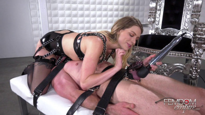 Giselle Palmer - Caged Cock Tease