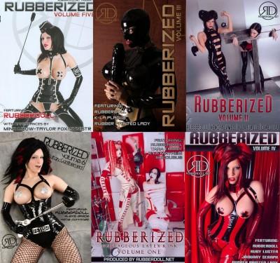 Rubberdoll Rubberized Parts 1-6