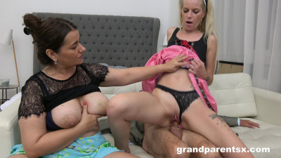 Young Housemaid Learns How To Fuck Old Cock (2019)