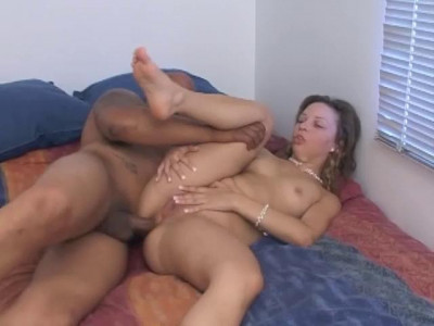 Anal scene with beautie