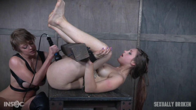 Girl finds herself bound, fucked, deepthroated-rough bdsm porn