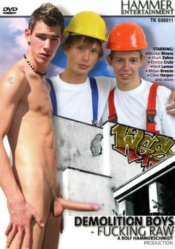 Demolition Boys Fucking Raw - Milan Breeze, Mark Zebro, Enrico Cruiz